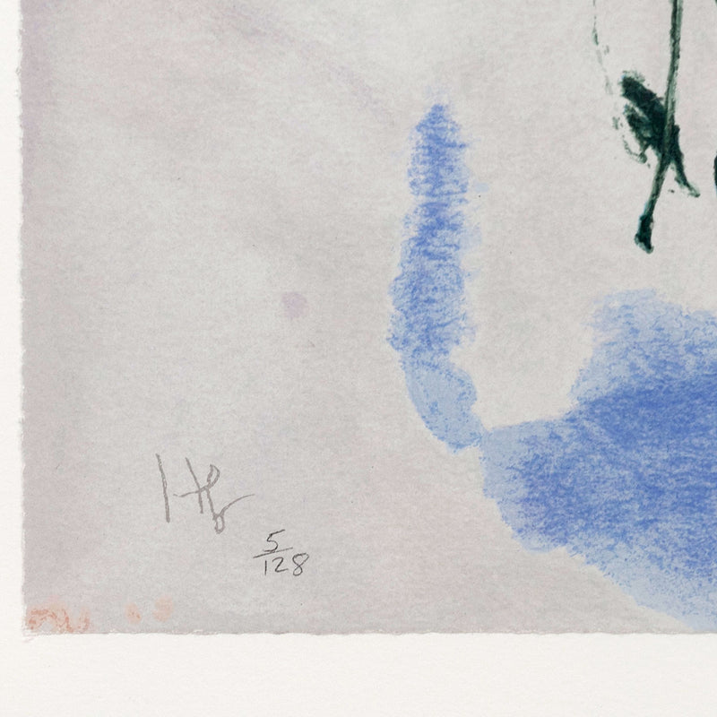 "HELEN FRANKENTHALER ""AERIE"" SCREENPRINT, 2009"