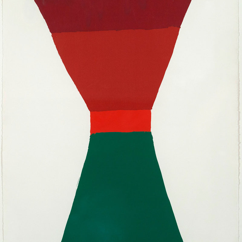Jack Bush Red-Orange-Green 1965 Five Colour Prints Caviar20