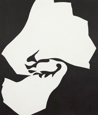 "JACK YOUNGERMAN ""BLACK FLAIR"" SILKSCREEN 1964"