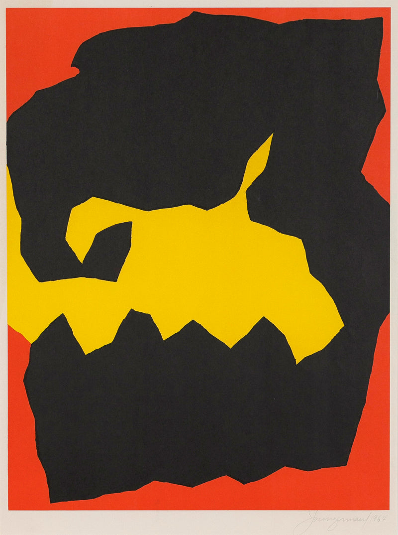 "JACK YOUNGERMAN ""CRUNCH"" SILKSCREEN 1964"