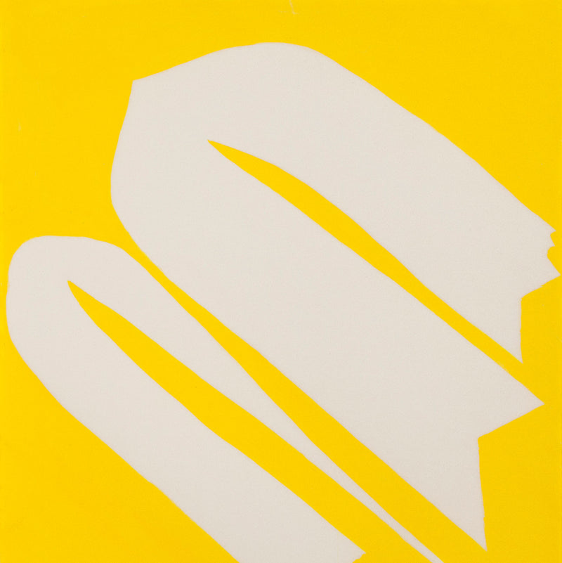 "JACK YOUNGERMAN ""YELLOW - UP"" GOUACHE, 1965"
