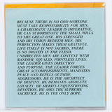 "JENNY HOLZER ""20 INFLAMMATORY ESSAYS - DOCUMENTA SET"" 1982"