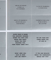 "JENNY HOLZER ""MESSAGES"", 1988"