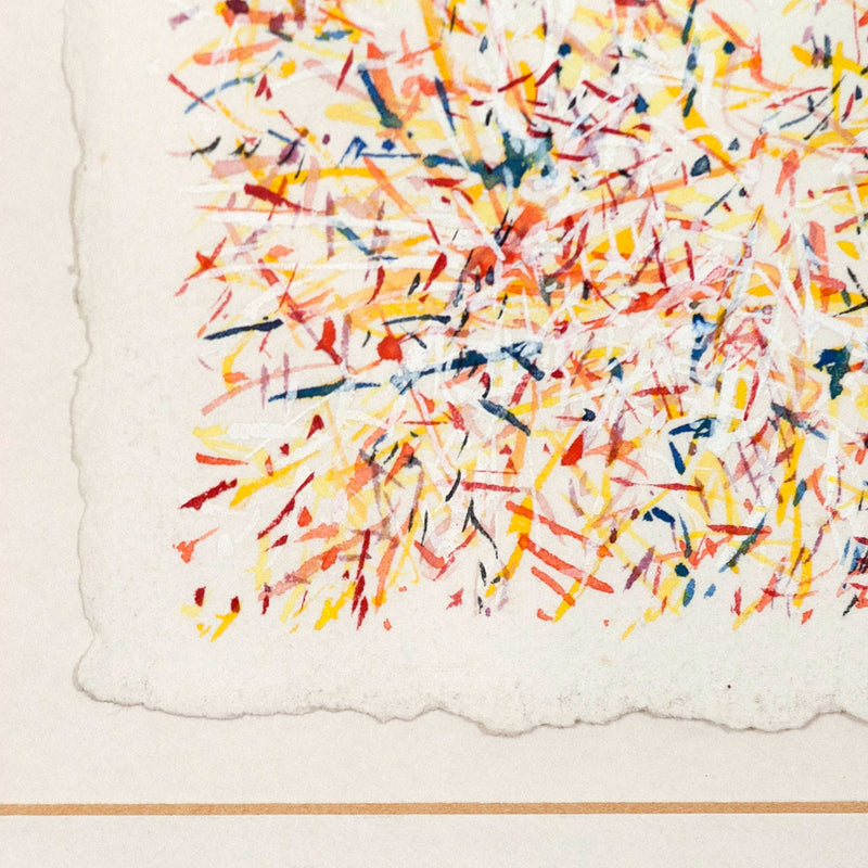 "JOHN MCCRACKEN ""CELEBRATION"" WATERCOLOR, 1979"