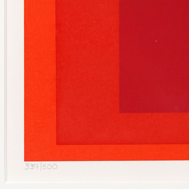 "JOSEF ALBERS ""EITHER/OR"" SERIGRAPH, 1973"