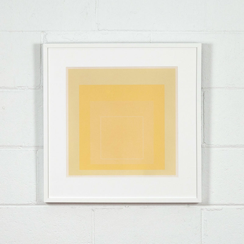 Josef Albers WLS - I Square Yellow prints Caviar20