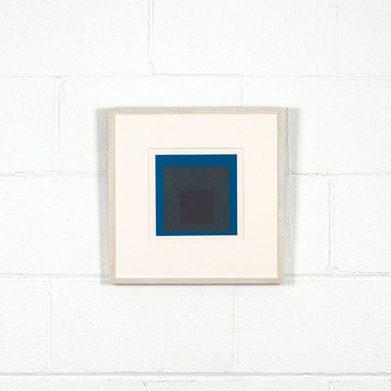 Albers Homage to the Square prints Caviar20 Slate Sky