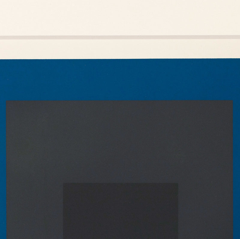 "JOSEF ALBERS ""SLATE AND SKY"" SILKSCREEN, 1964"