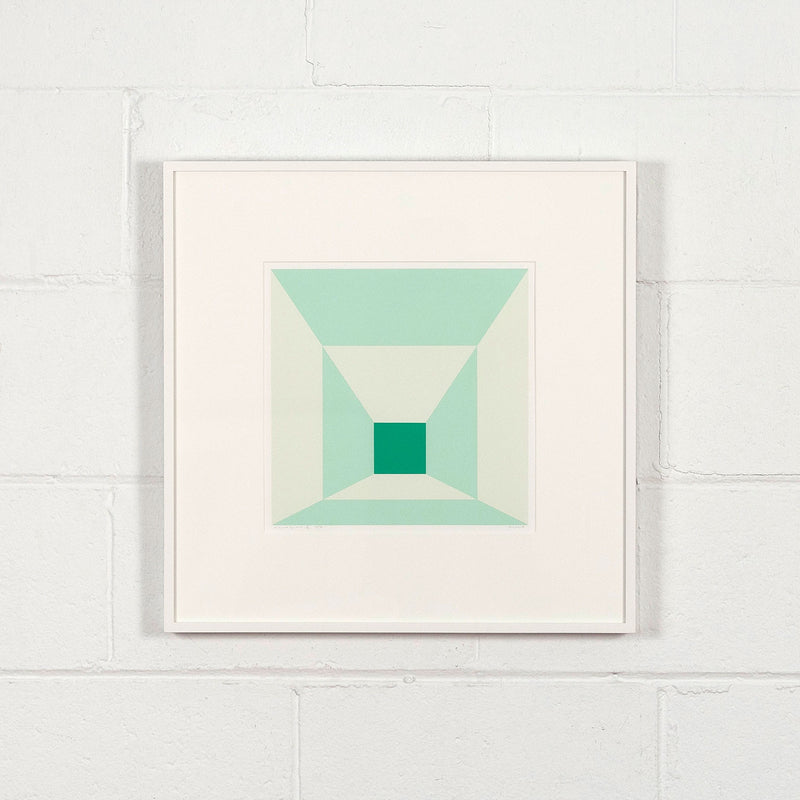 Josef Albers square prints Mitered Square Caviar20