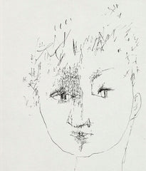 "JOYCE WIELAND ""MICHAEL SNOW"" DRAWING, 1954"
