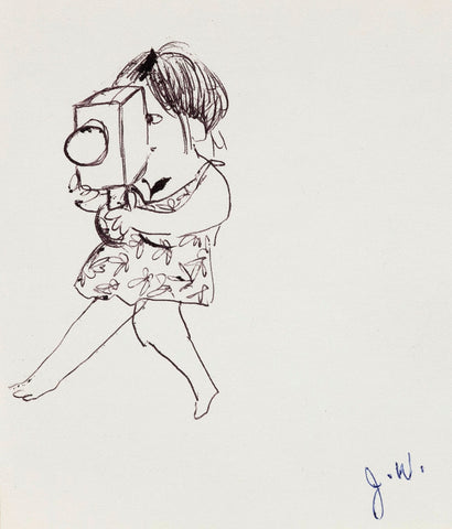 "JOYCE WIELAND ""LADY DIRECTOR"" DRAWING"