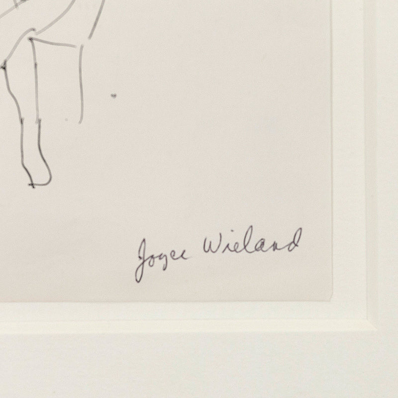 "JOYCE WIELAND ""TWO LADIES"" DRAWING"