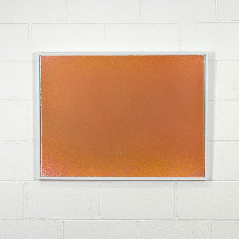 "JULES OLITSKI ""GRAPHIC SUITE #2"" (ORANGE) SILKSCREEN 1970"