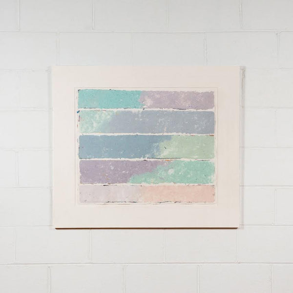 Kenneth Noland, Bands, Monoprint, Kenneth Noland Prints, 1981 Caviar20