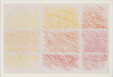 "KENNETH NOLAND ""MARRON"" ETCHING, 1990"