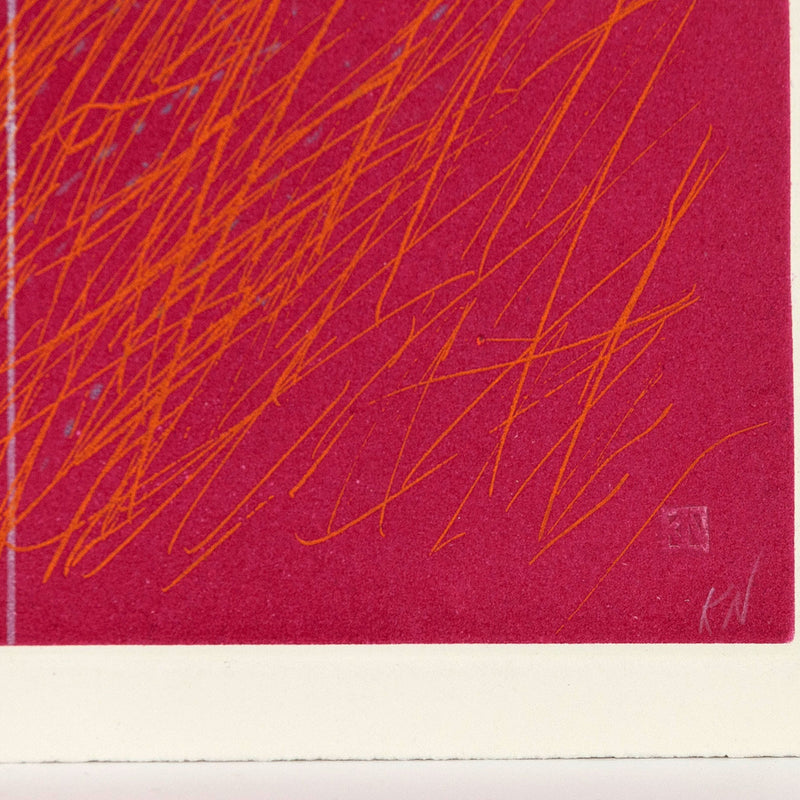 "KENNETH NOLAND ""ROY"" ETCHING, 1990"