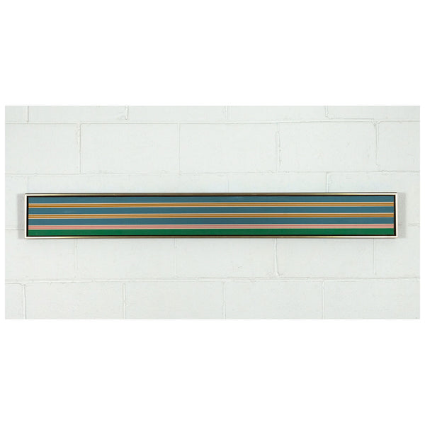 "KENNETH NOLAND ""TWIN PLANES"" SCREENPRINT, 1969"