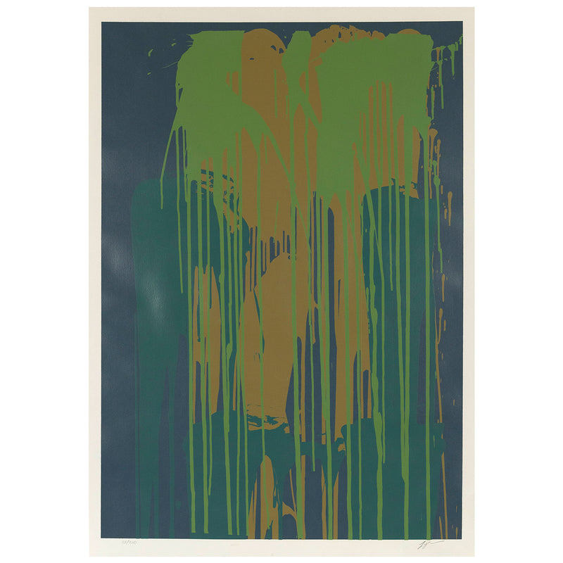 Larry Poons Untitled Serigraph 1979 Caviar20
