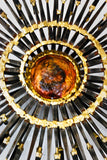 "IN THE STYLE OF LINE VAUTRIN ""SUNBURST"" SCULPTURE"
