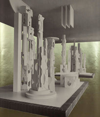 "LOUISE NEVELSON ""BICENTENIAL DAWN"", 1976"