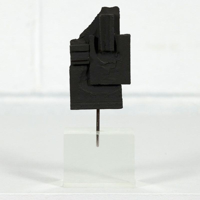 "LOUISE NEVELSON ""BRANDEIS"" BRONZE, 1968"