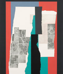 "LOUISE NEVELSON ""CELEBRATION"" AQUATINT, 1979"