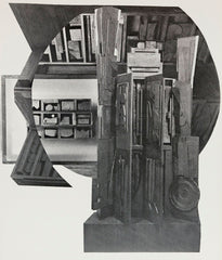 "LOUISE NEVELSON ""FACADE"", 1966"