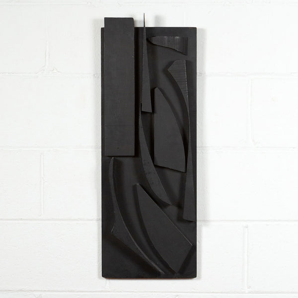 Louise Nevelson, Landscape, Sculpture, Painted Wood, 1957, Caviar20, wall sculpture