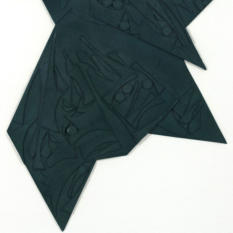 "LOUISE NEVELSON ""SIX POINTED STAR"" 1980"