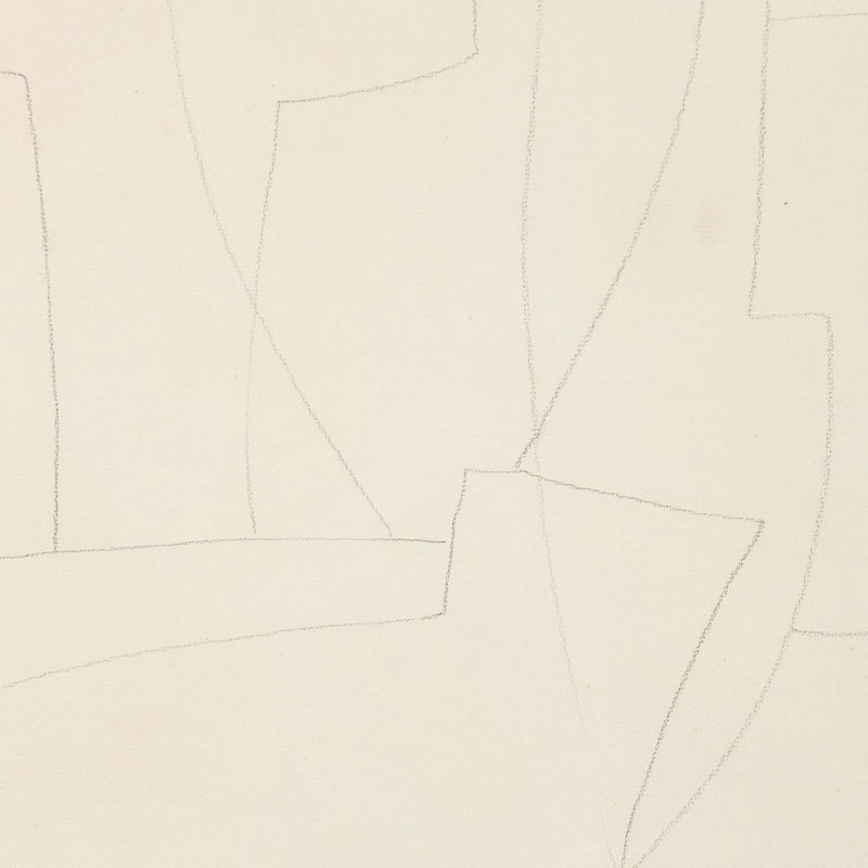 "LOUISE NEVELSON ""FORGOTTEN CITY"" DRAWING, 1956"