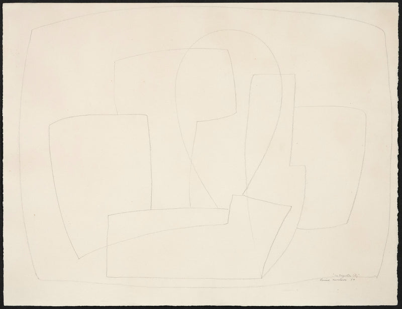 Louise Nevelson Caviar20 drawing