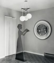 "LYNNE COHEN ""MODEL LIVING ROOM"" PHOTOGRAPH, 1987"