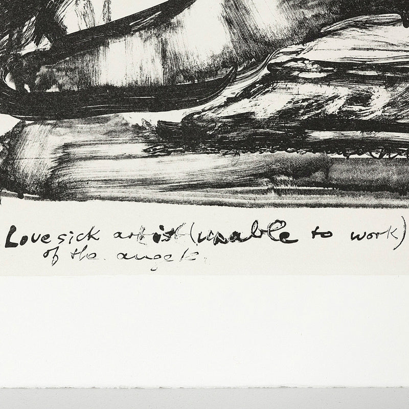 Marlene Dumas Lovesick artist reflects on the sex of the angels 1989