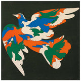 "MILTON GLASER ""BIRDS"" SILKSCREEN, 1965"