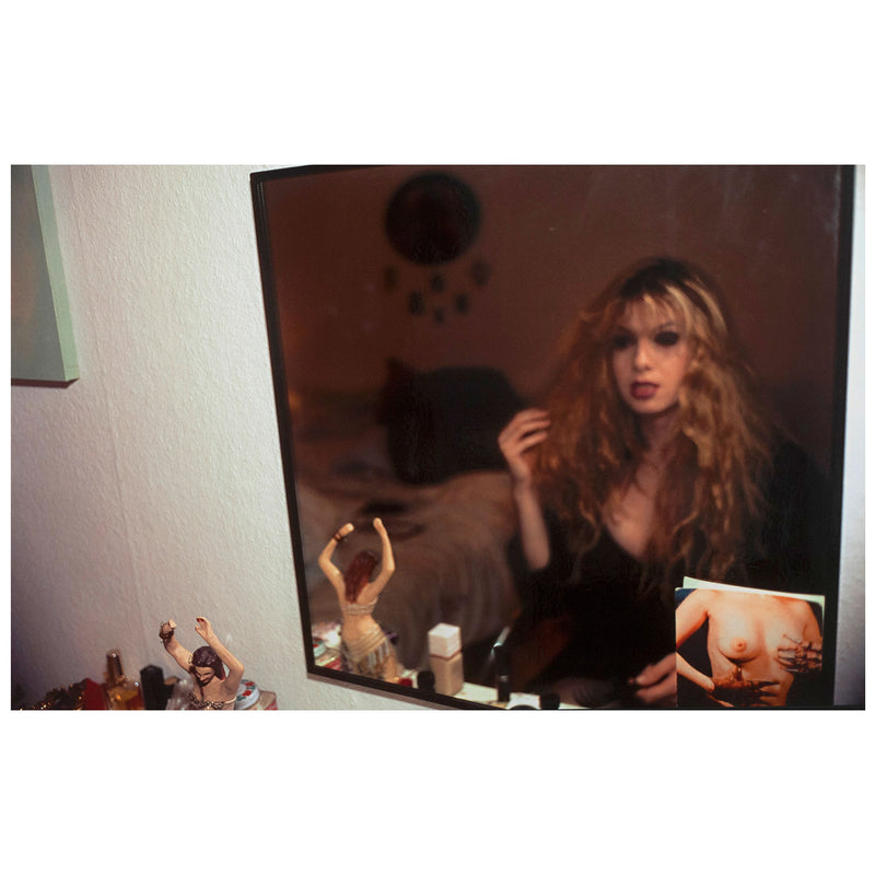 Nan Goldin, Joey in My Mirror, Caviar20, photos