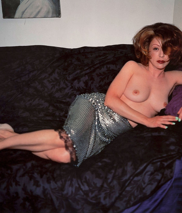 Kathleen White portrait Nan Goldin photo Caviar20