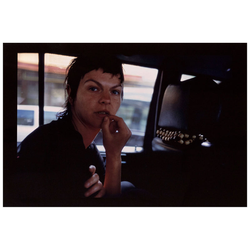 Caviar20 Nan Goldin Valerie in the Taxi