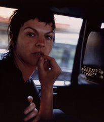 "NAN GOLDIN ""VALERIE IN THE TAXI, PARIS"", 2001"