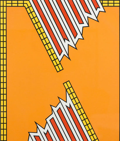 "NICHOLAS KRUSHENICK ""DEEP DOWN ORANGE"" 1979"