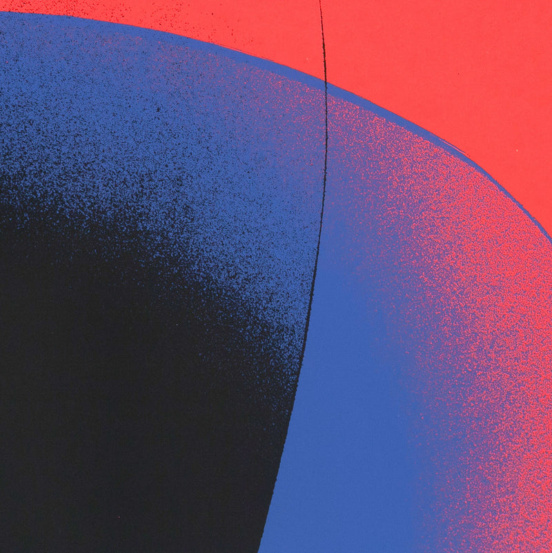 "OTTO PIENE ""COMPOSITION"" SCREENPRINT, 1969"