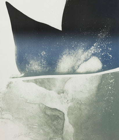"PAUL JENKINS ""PHENOMENA MOBY DICK"", 1981"