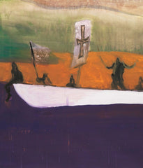 "PETER DOIG ""CANOE"" AQUATINT, 2008"