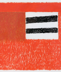 Ray Mead, Untitled (Flags), Pastel and mixed media on paper, 1979, Caviar 20,
