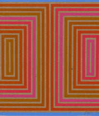 "RICHARD ANUSZKIEWICZ ""DOUBLE STRUCTURE"" SCREENPRINT, 1973"