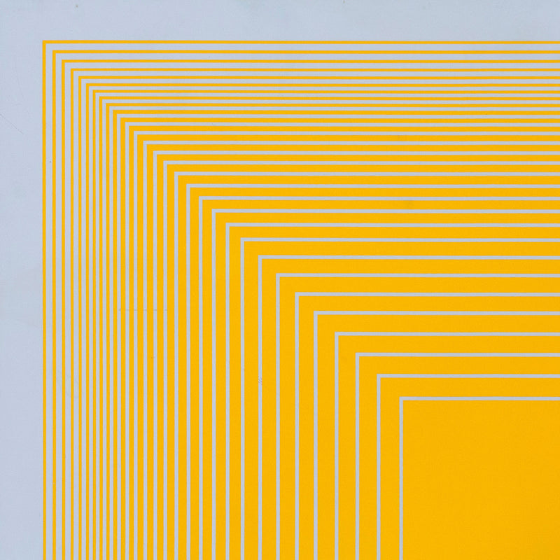 "RICHARD ANUSZKIEWICZ ""SPECTRAL 9 B"" SCREENPRINT, 1969"