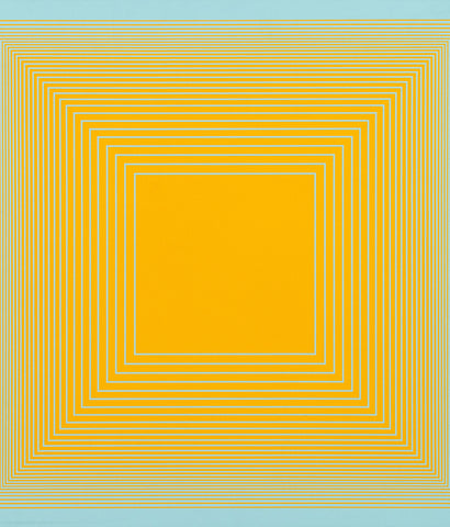 "RICHARD ANUSZKIEWICZ ""SPECTRAL 9 D "" SCREENPRINT, 1969"