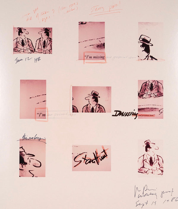 Richard Prince, Working Proof...Joke, Marker and pen on ektacolor photographs, 1986, Caviar20
