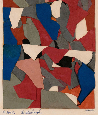 "ROBERT GOODNOUGH ""COLLAGE FOR A STAINED GLASS WINDOW"", 1965"