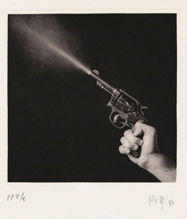 Robert Mapplethorpe Caviar20 Gun Blast A Season in Hell Photogravure