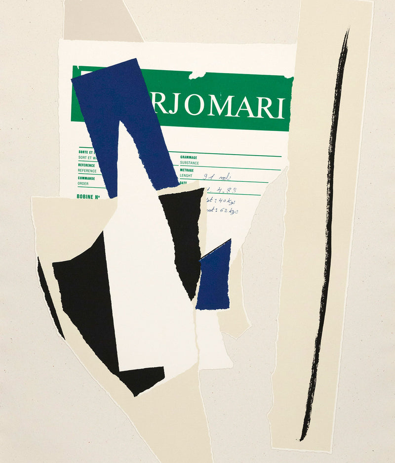 "ROBERT MOTHERWELL ""AMERICAN-LA FRANCE VARIATIONS IX"" LITHO, 1984"
